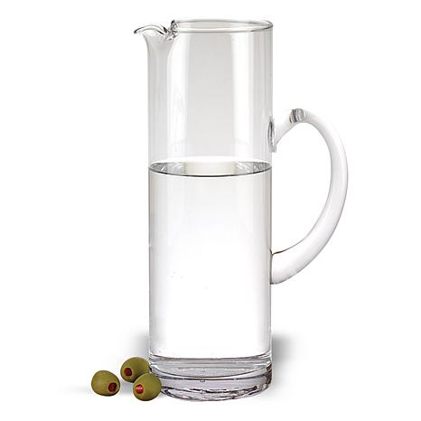 Badash Celebrate Mouth Blown Glass 48 oz. Pitcher