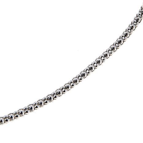 "Bali Designs 22"" Sterling Silver Popcorn Chain Necklace"