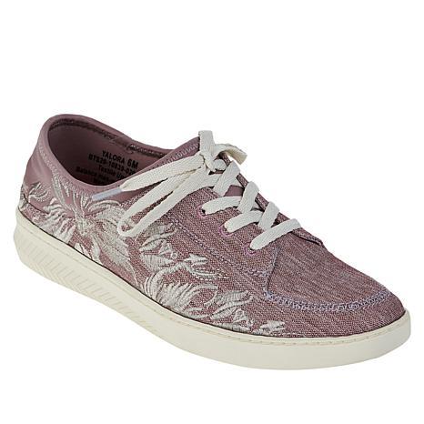 Baretraps® Yalora Embroidered Lace-Up Sneaker