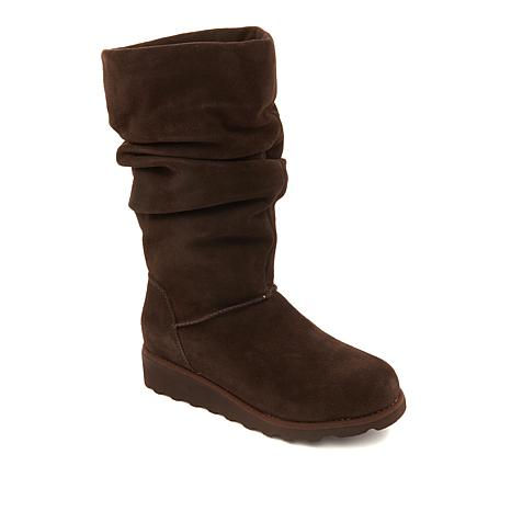 BEARPAW® Ariana Suede Slouchy Boot  with NeverWet™