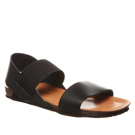 BEARPAW® Bianca Leather Slingback Sandal
