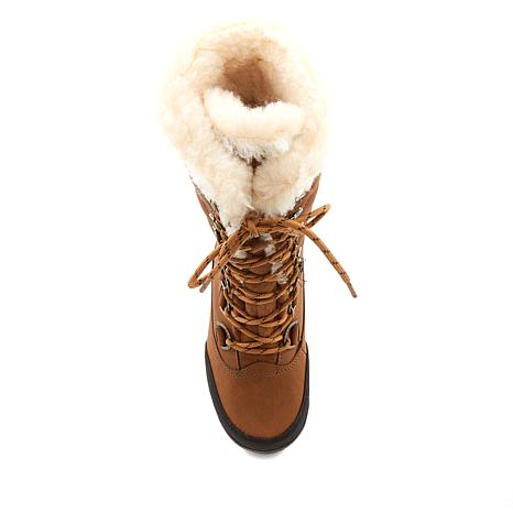 BEARPAW® Isabella Leather Lace-up