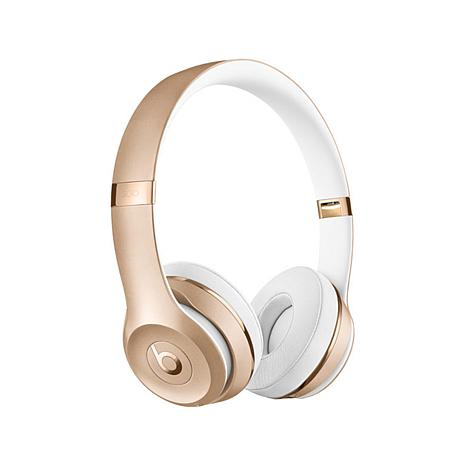 Buy beats by dr dre solo 3 wireless bluetooth headphones rose gold - Beats Solo3 On Ear Bluetooth Wireless Headphones With