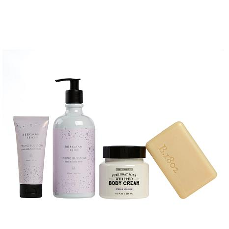 Beekman 1802 4-piece Spring Blossom Goat Milk Collection