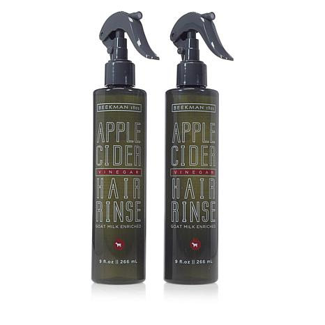 Beekman 1802 Apple Cider Vinegar Hair Rinse Duo