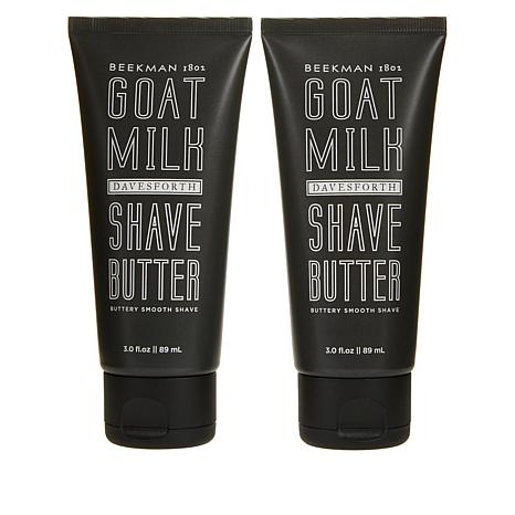 Beekman 1802 Davesforth Goat Milk Shave Butter Duo