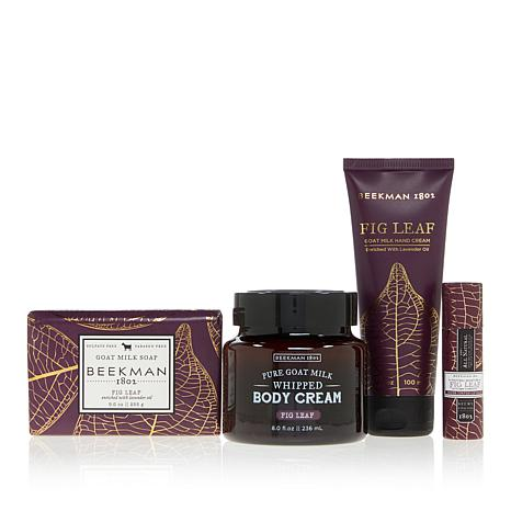 Beekman 1802 Fig Leaf 4-piece Goat Milk Collection