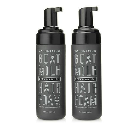 Beekman 1802 Goat Milk Volumizing Hair Foam Duo