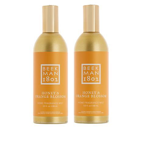 Beekman 1802 Honey & Orange Home Fragrance Mist Duo