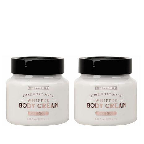 Beekman 1802 Oak Moss Goat Milk Whipped Body Cream Duo - 8 fl. oz.