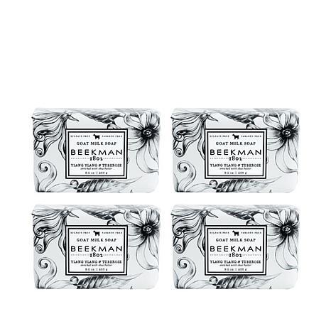 Beekman 1802 Ylang Ylang & Tuberose  Bar Soap 4pc Set Auto-Ship®