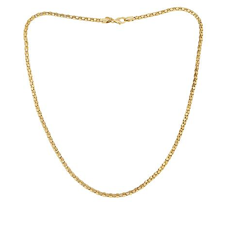 Bellezza Bronze Coreana Popcorn Chain Necklace - 24""