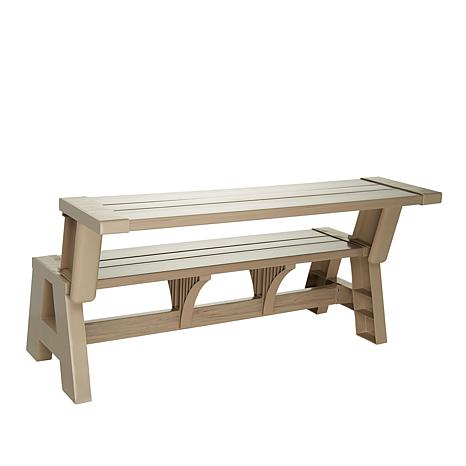 Superb Bench 2 Table Convert A Bench Evergreenethics Interior Chair Design Evergreenethicsorg