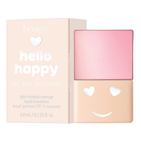 Benefit Cosmetics Hello Happy Soft Blur Shade 1 Mini Foundation