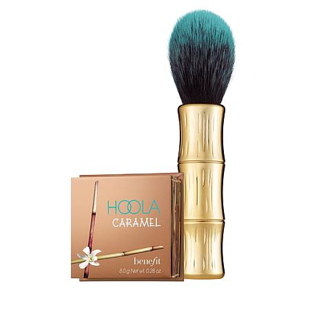 Benefit Cosmetics Hoola Caramel Powder Bronzer with Brush