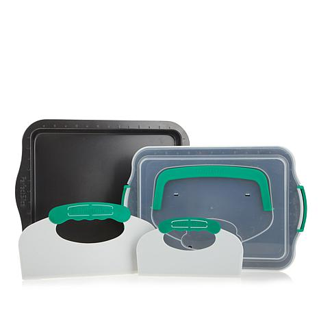 BergHOFF Perfect Slice 5-piece Set with Lids and Tool