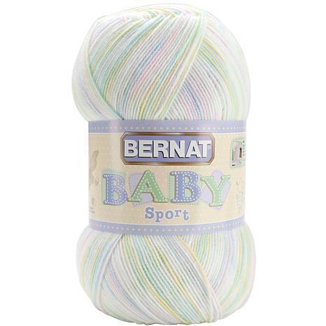 Bernat Big Ball Baby Sport Yarn - Ombres Baby Baby