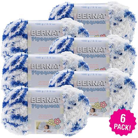 Bernat Pipsqueak Yarn 6-pack - Blue Jean Swirl