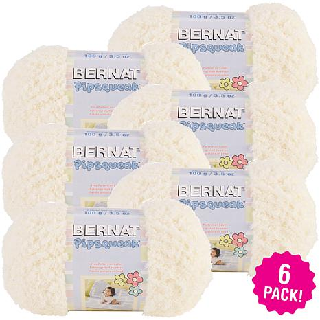 Bernat Pipsqueak Yarn 6-pack - Vanilla