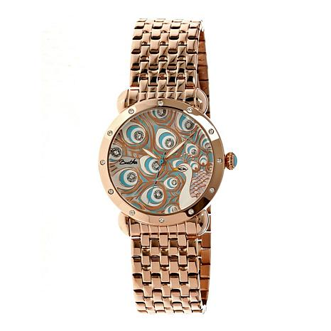 Bertha Genevieve Mother-of-Pearl Dial Bracelet Watch
