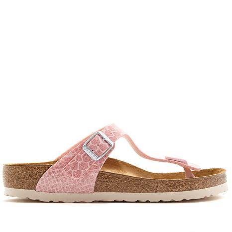Birkenstock Gizeh Magic Snakeprint Thong Comfort Sandal