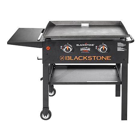 "Blackstone Stainless Steel Front 28"" Griddle - 2 Burner"