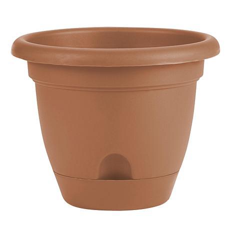 """Bloem Lucca 1/2-Gallon Self-Watering Planter - 6-3/4"""""""