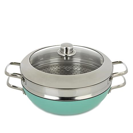 Blue Diamond® Elite Chef's Pan Next Generation Ceramic Nonstick