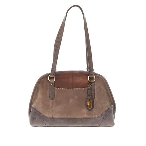 Born® Distressed Leather Satchel