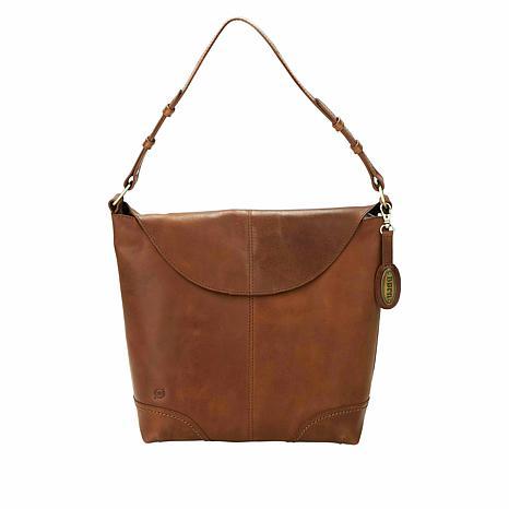 Born® Elaina Distressed Leather Hobo Bag
