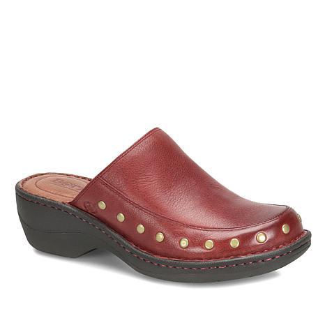 Born® Majesty Leather Studded Clog