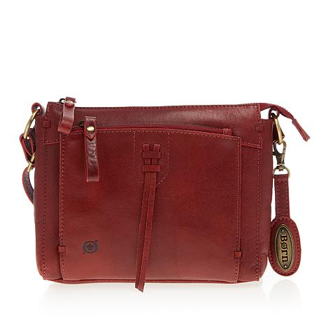 Born Matteo Bronco Leather Crossbody