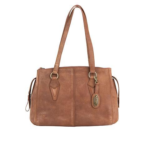 Born® Renza Leather Satchel