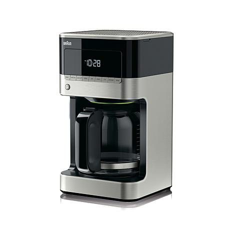 Braun Drip Coffee Maker : Braun BrewSense 12-cup Drip Coffee Maker - 8212055 HSN