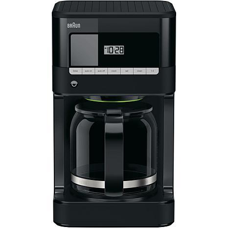 Braun BrewSense 12-Cup Drip Coffee Maker in Black