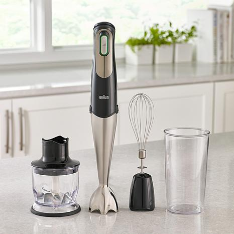Braun Multiquick 7 Handheld Blender with 1.5-Cup Chopper