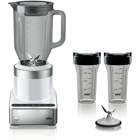 Braun PureMix Power Countertop Blender with 56-Oz. Thermal-Resistan...