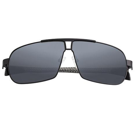 Breed Sagittarius Polarized Sunglasses with Black Frame and Lenses