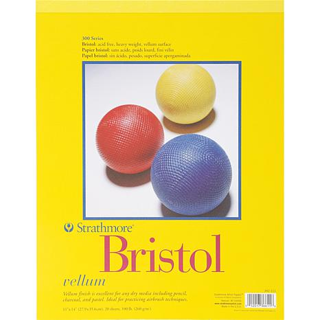 "Bristol Vellum Paper Pad 11"" x 14"" - 20 Sheets"