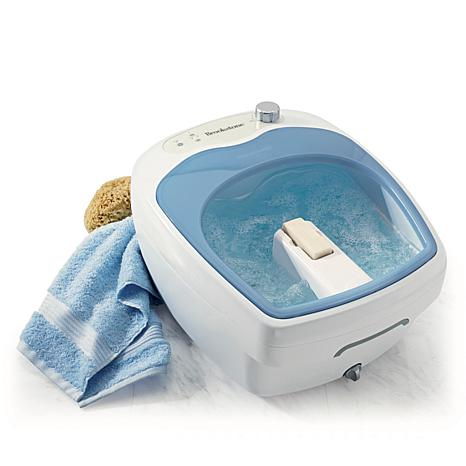 Brookstone® Aqua Jet Heated Foot Spa