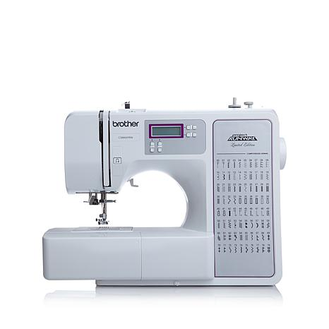 Brother 40stitch Project Runway Computerized Sewing Machine Mesmerizing How To Use The Brother Sewing Machine
