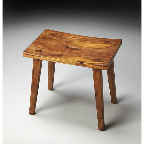 Butler Specialty Kirill Sheesham Wood Stool 7544825 Hsn