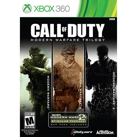Call Of Duty Modern Warfare Trilogy - Xbox 360
