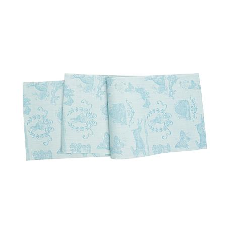C&F Home Rabbit Jacquard Runner