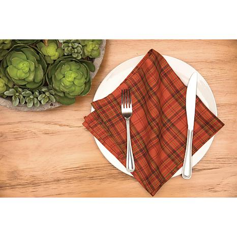 C&F Home Remington Plaid Napkin Set of 6