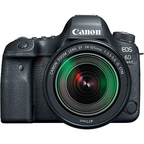 Canon EOS 6D MK II DSLR Camera with 24-105mm Lens