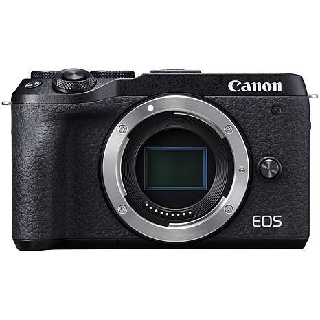 Canon EOS M6 Mark II Mirrorless Black Digital Camera Body