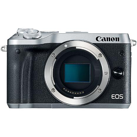 Canon EOS M6 Mirrorless Silver Digital Camera Body