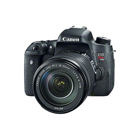 Canon EOS Rebel T6s 24.2MP Digital SLR Camera with EF-S 18-135mm Lens