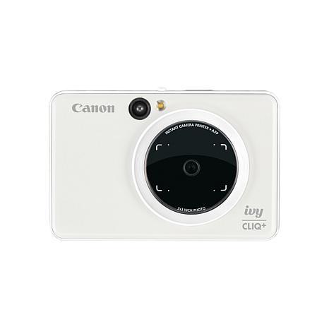 Canon IVY CLIQ+ Pearl White Instant Camera Printer